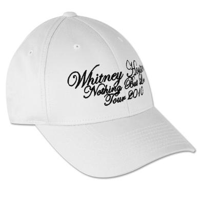 Whitney Houston White Baseball Cap