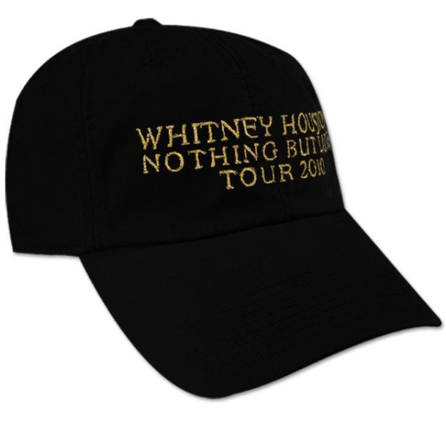 Whitney Houston Black Baseball Cap