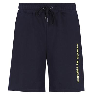 DJ Snake SHORT SIGNATURE PARDON MY FRENCH BLACK + LEMON PRINT 802cc49574e9