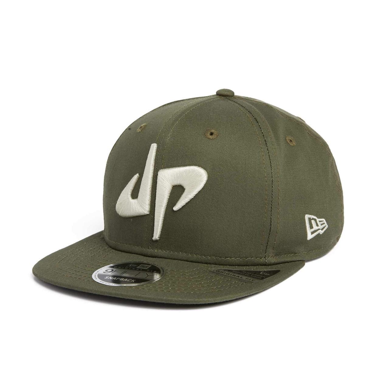 28bde183091dd Dude Perfect DP x New Era 9Fifty Snapback    OD Green