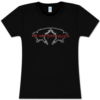 We Are The Fallen Logo Crows Girls T-Shirt