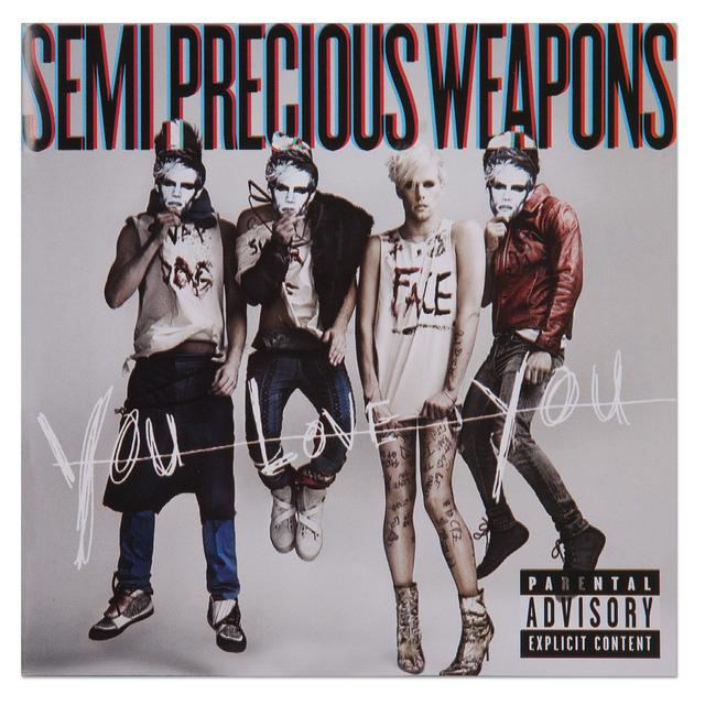 Semi Precious Weapons You Love You CD