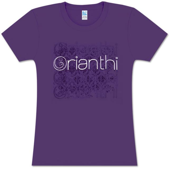 Orianthi Cloned Purple Girlie T-Shirt