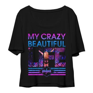 Ke$Ha My Crazy Beautiful Life Ladie's Tee