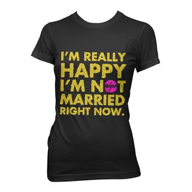 Ke$Ha I'm Really Happy I'm Not Married Jr. Tee