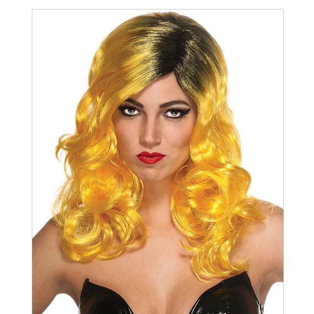 Lady Gaga Yellow Tour Wig
