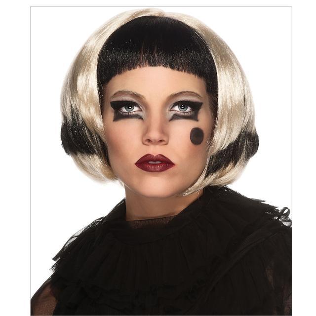 Lady Gaga Black/Blonde Wig