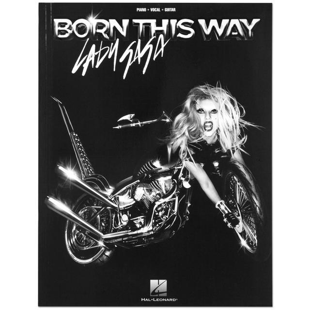 Lady Gaga Born This Way Songbook