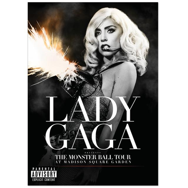 Lady Gaga Presents The Monster Ball at Madison Square Garden DVD