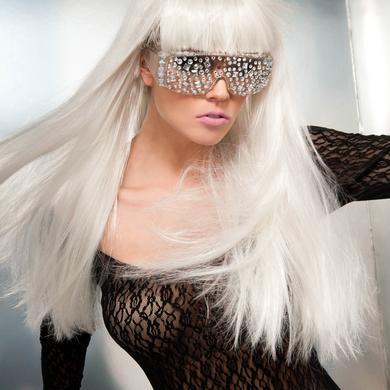 Lady Gaga Jeweled Glasses