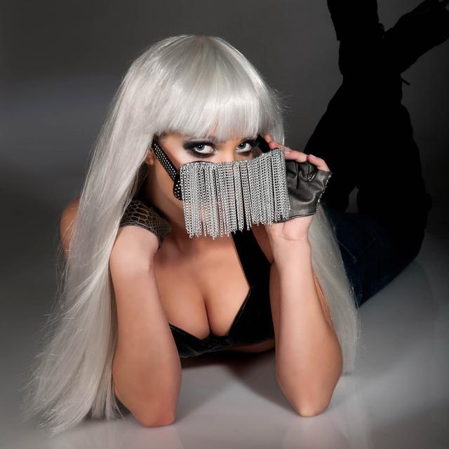 Lady Gaga Glasses w/ Chains