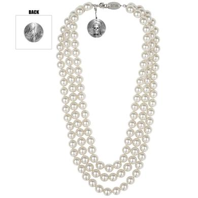 Lady Gaga Faux Peal Necklace