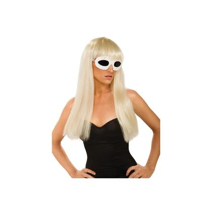 Lady Gaga Straight Wig with Bangs