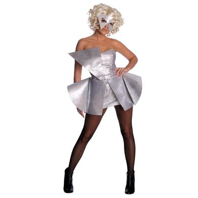 Lady Gaga Silver Sequin Dress Costume