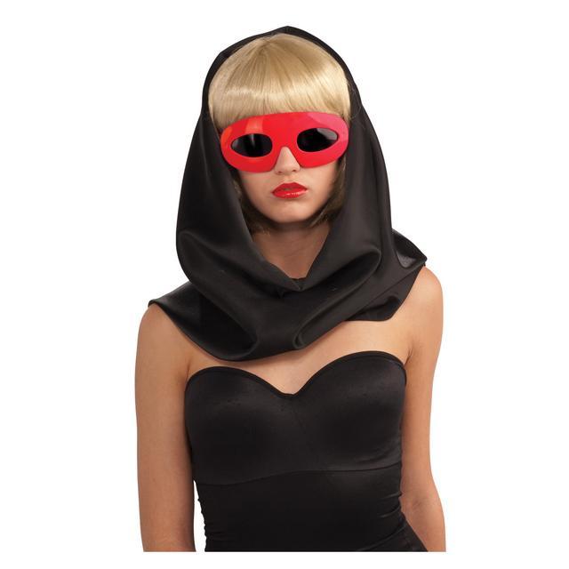 Lady Gaga Glasses - Red