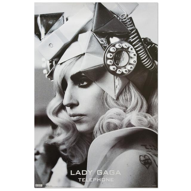 Lady Gaga Telephone Poster