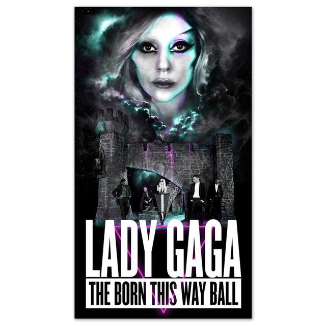 Lady Gaga Born This Way Ball Poster