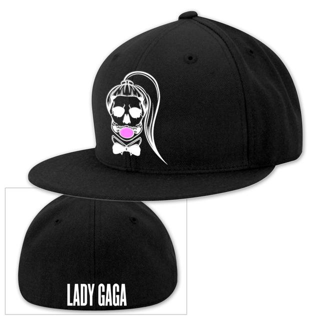 Lady Gaga Skeleton Baseball Hat