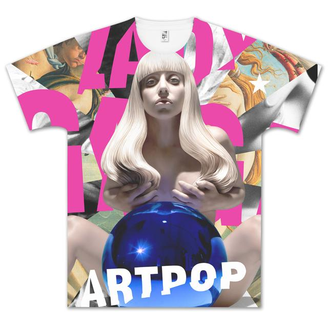 Lady Gaga Sublimation T-Shirt