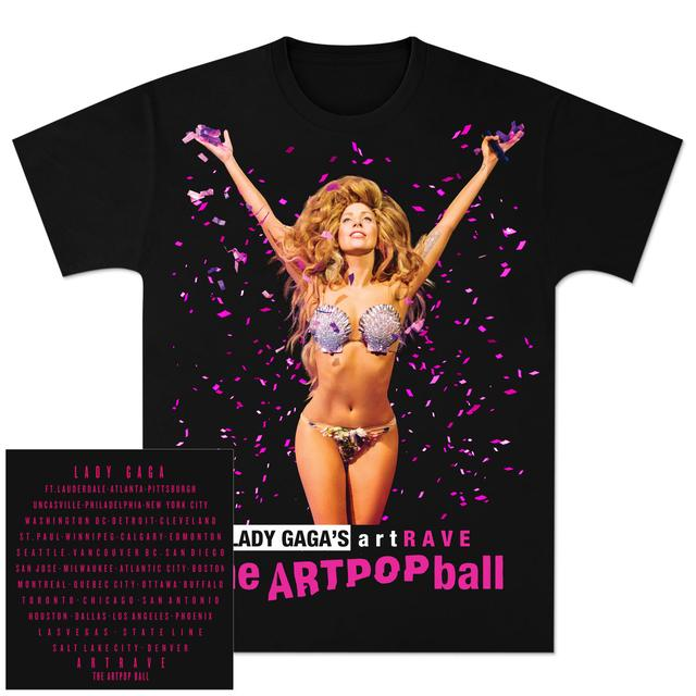 Lady Gaga artRAVE Tour T-Shirt