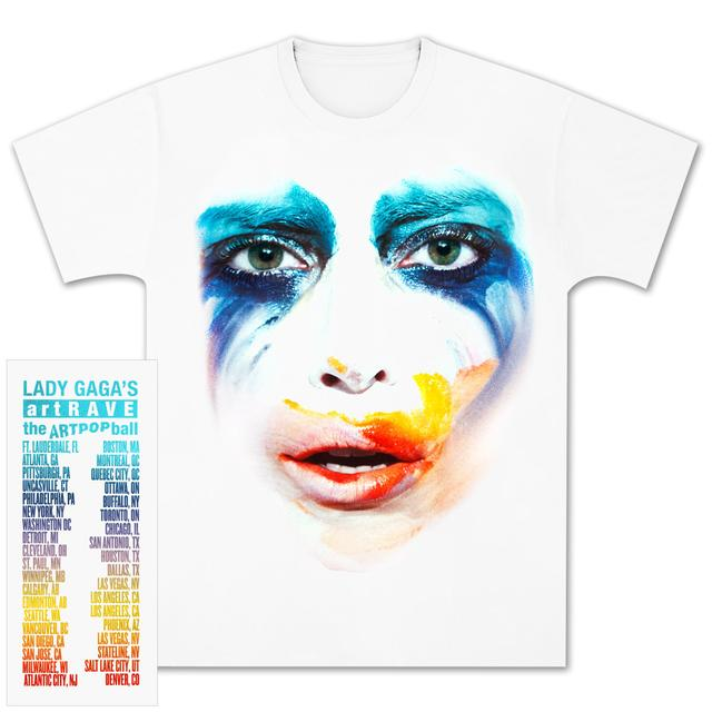Lady Gaga Applause Dateback T-Shirt