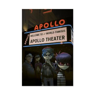 Exclusive - Gorillaz Live in Harlem Lithograph