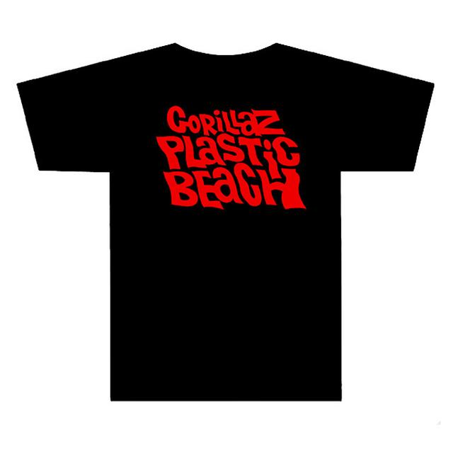 Gorillaz Plastic Beach Black T-Shirt
