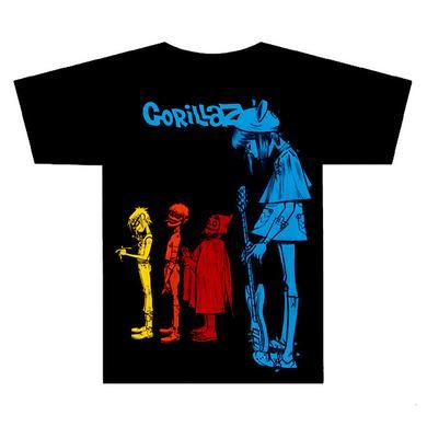 Gorillaz Noodle Black T-Shirt