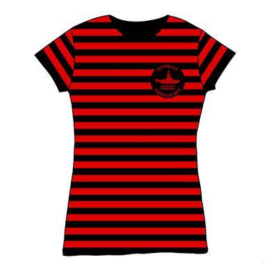 Gorillaz Gorilaz Sub Division Black & Red Stripe Babydoll