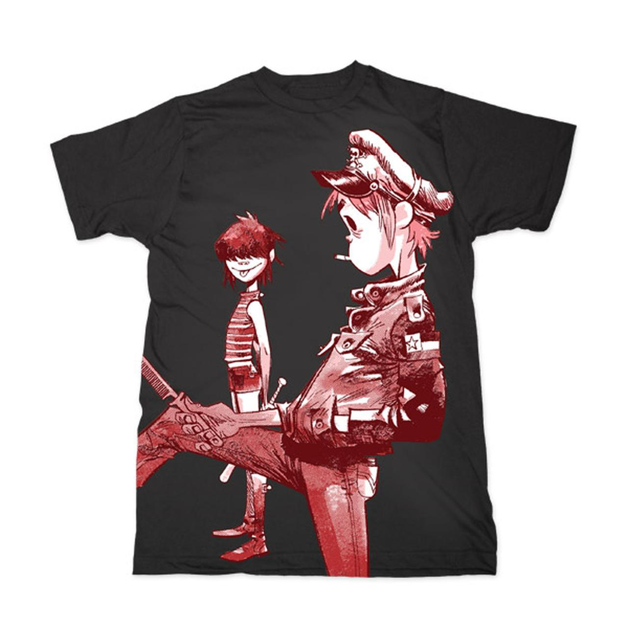 Gorillaz Band Artwork T Shirt