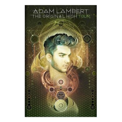 Adam Lambert ORIGINAL HIGH TOUR PROGRAM