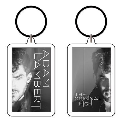 ADAM LAMBERT FACES KEYCHAIN