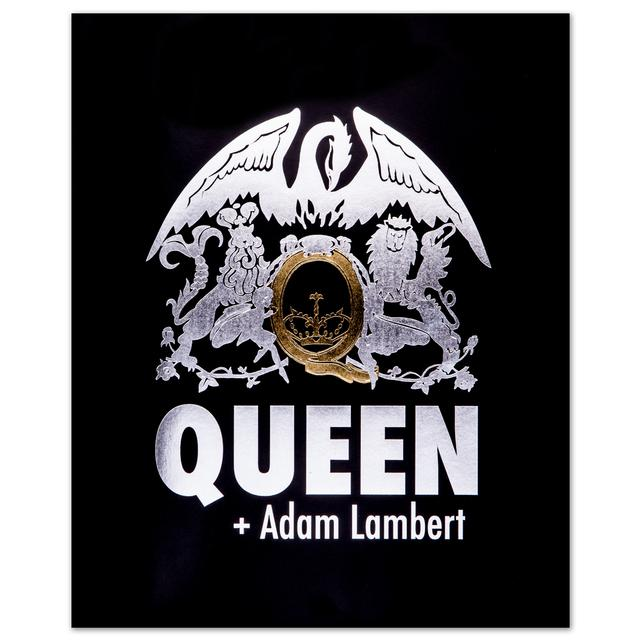Queen + Adam Lambert 2014 Tour Program