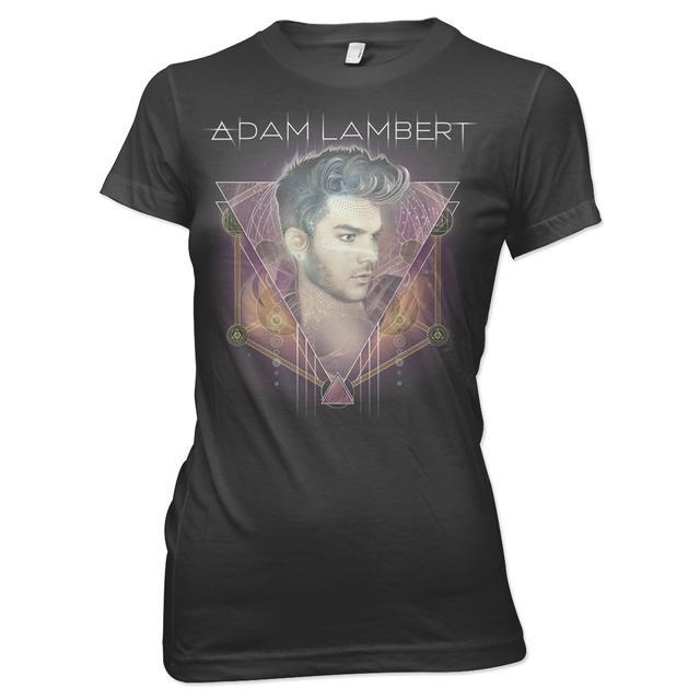 Adam Lambert CONNECTION GIRLS T-SHIRT