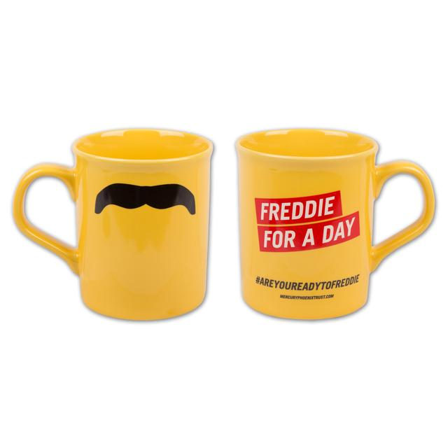 Freddie For a Day Yellow Mug