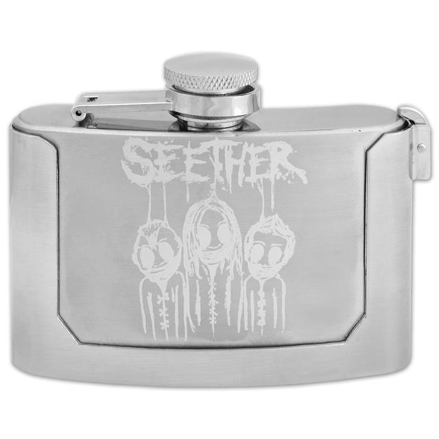 Seether Flask Belt Buckle