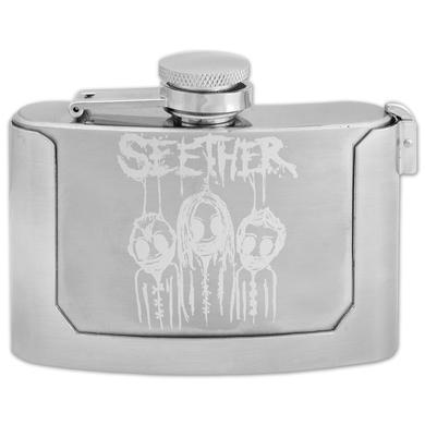Seether Flask Belt Buckle