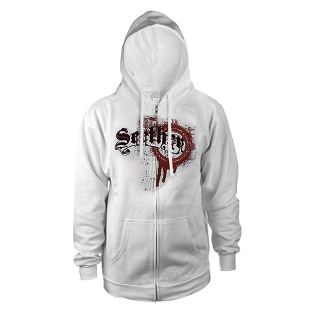 Seether Womens Splatter Zip Hoodie