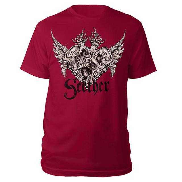Seether Skull Wing Tee