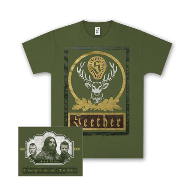 Seether Green Jager T-Shirt