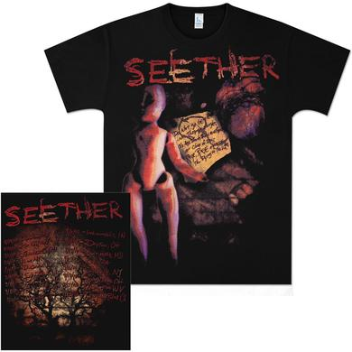 Seether 2010 Tour Date T-Shirt