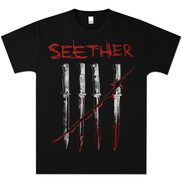Seether Blades Black Tee