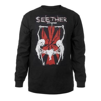 "Seether Long Sleeve ""Triple Threat"" Tour Tee"