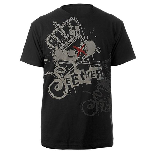 Seether Crowned Skull Tee