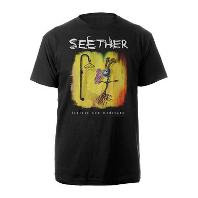 Seether Isolate and Medicate Album Cover T-shirt