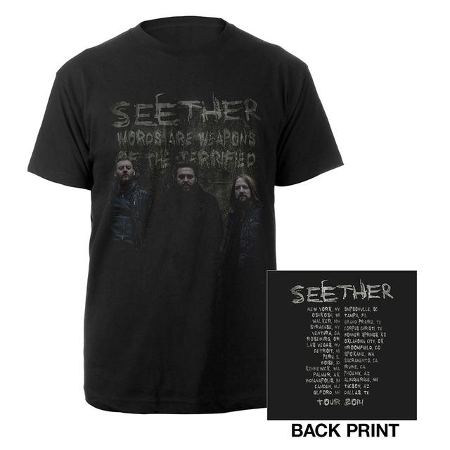 Seether Fall Photo Itinerary Tee
