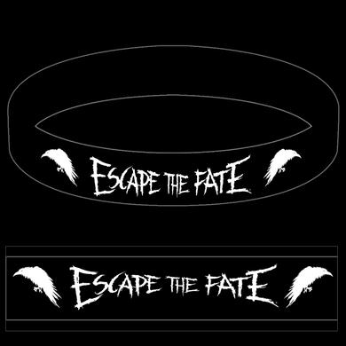 Escape The Fate Raven Rubber Bracelet