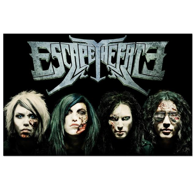 Escape the Fate Backdrop Poster