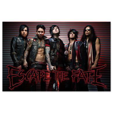 Escape the Fate Ungrateful Poster