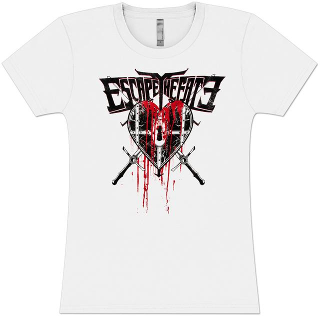 Escape the Fate Lock It Girlie T-Shirt